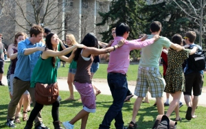 The first Mp3 Flash Mob I planned was a lot of fun, and a huge success!