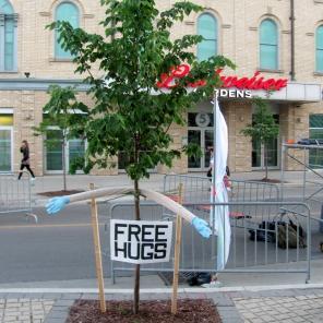 Person-Free Hugs Tree