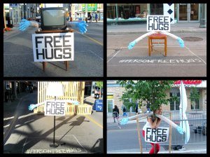 #personfreehugs