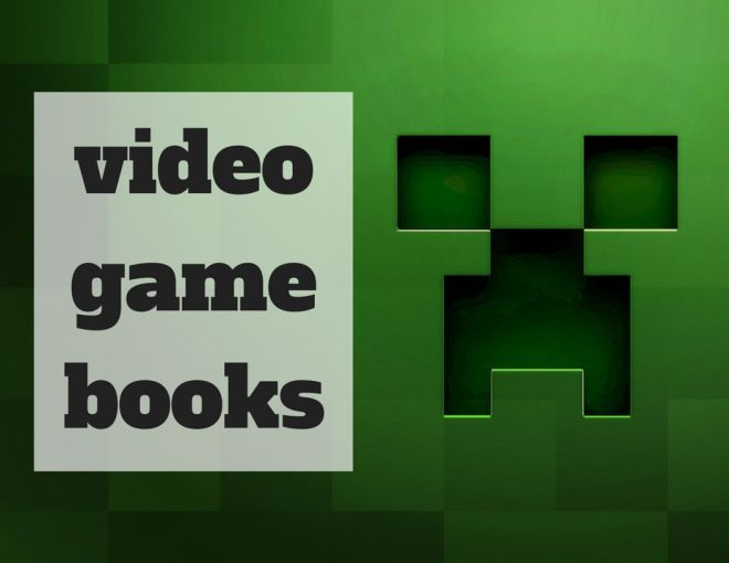 Library video game books display