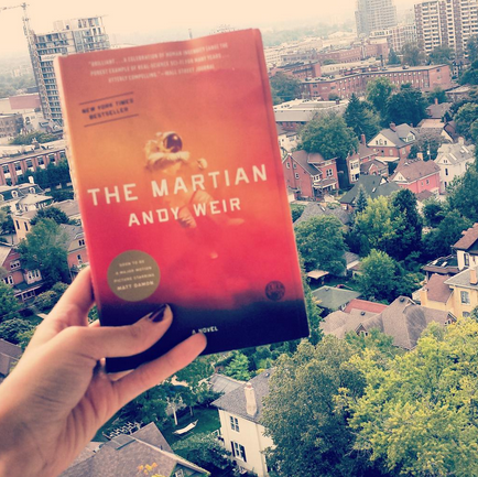 Andy Weird The Martian Book Cover