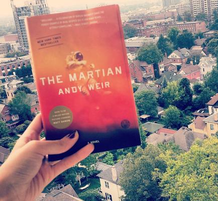 Andy Weird The Martian Book Cover