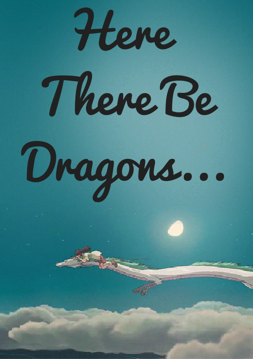 YA Dragon Library Display Sign