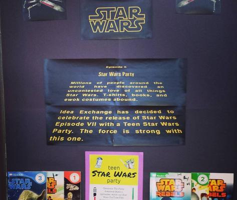 Star Wars Opening Crawl Library Display – Ontarian Librarian