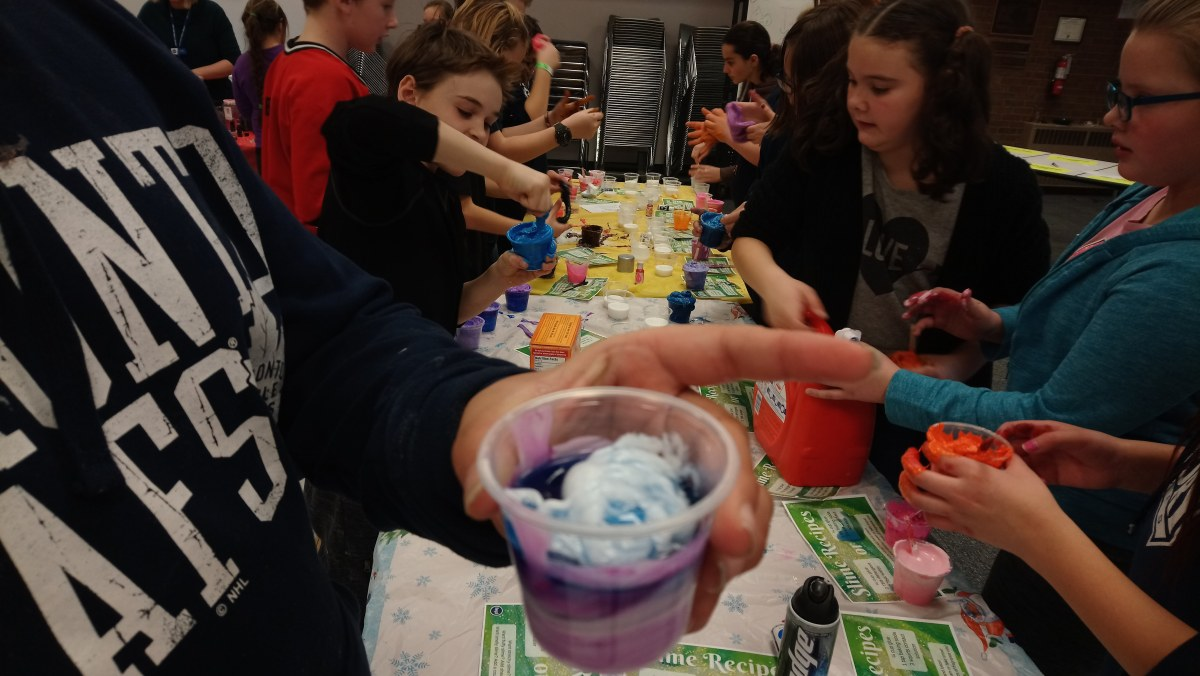 How To Throw a Slime Party at the Library (and why you should!)